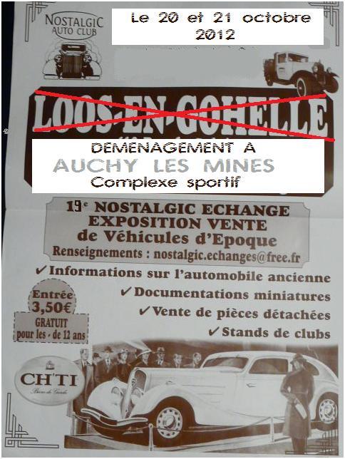 expo/bourse les 20 et 21 octobre a auchy les mines Nostal10