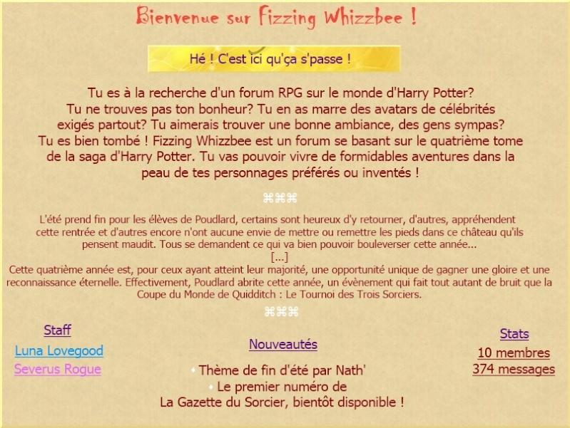 Fizzing Whizzbee, le monde d'Harry Potter Lalala10