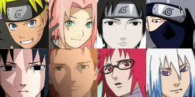 Face Set Naruto Naruto10