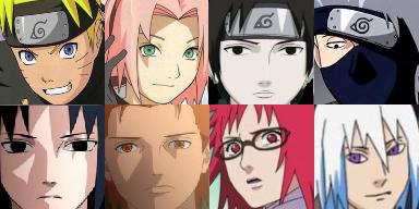 Face Set Naruto Naruto10