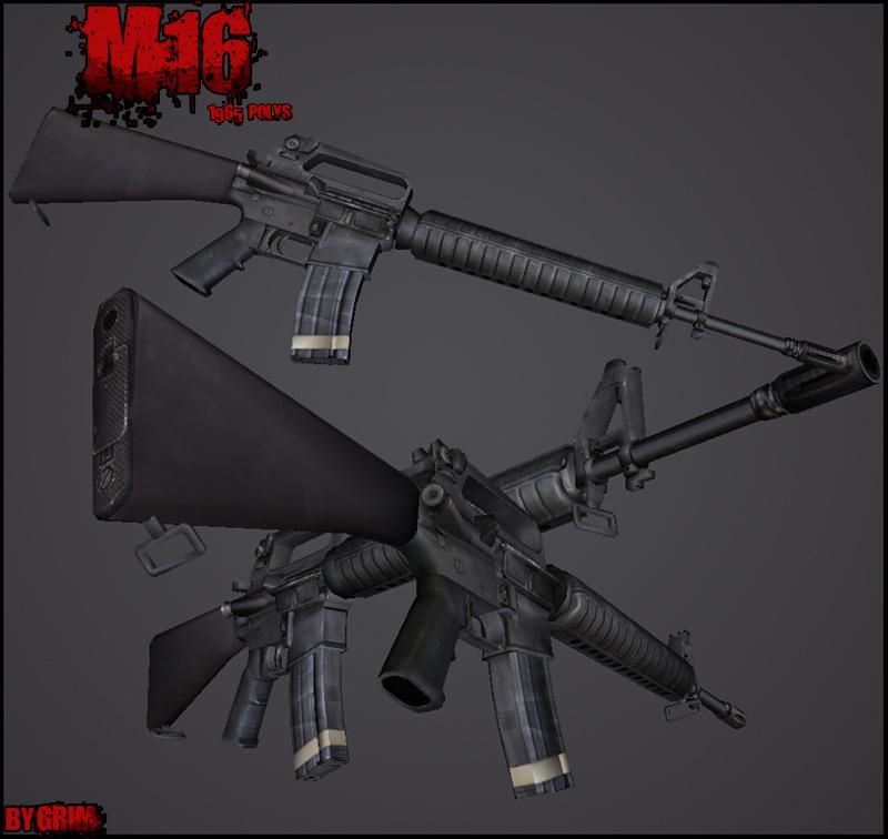 Pack d'armes HD M16r10