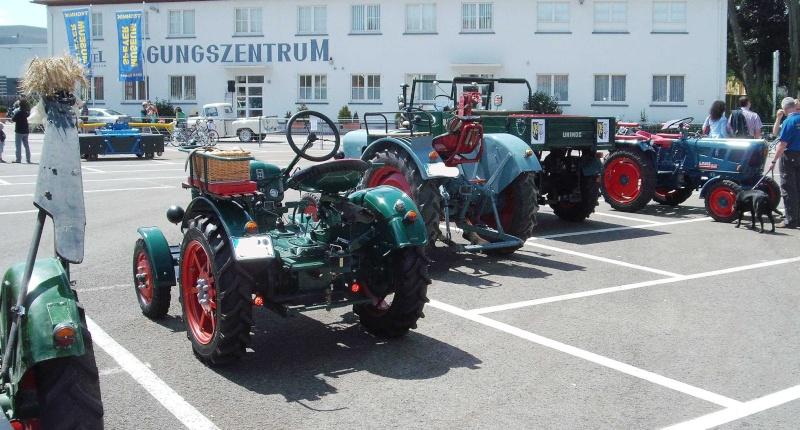 Traktor und Unimogtreffen am 28-29.7.2012 im Technikmuseum Speyer. Dscf5217