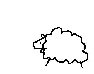 Dessine moi un mouton. ♥  Sans_t70