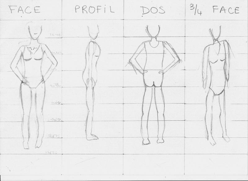 Anatomies des personnages ( 1 ) - Page 3 Numari13