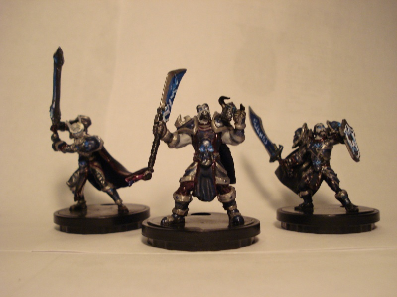 customize minis 1 - death knights approach Dsc01214