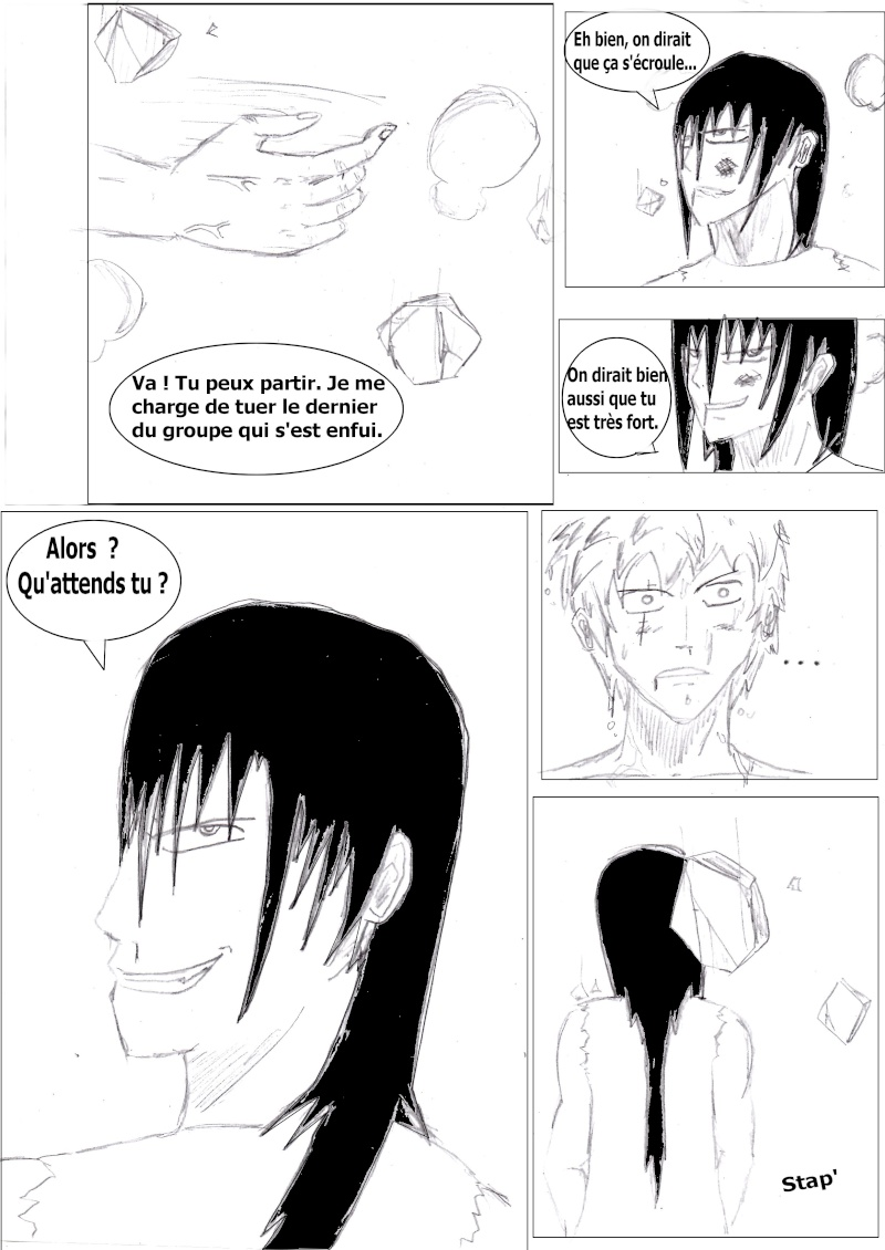 Manga créé by Grey Chapit23