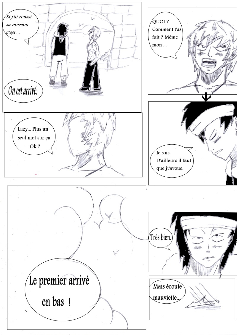 Manga créé by Grey Chapit32