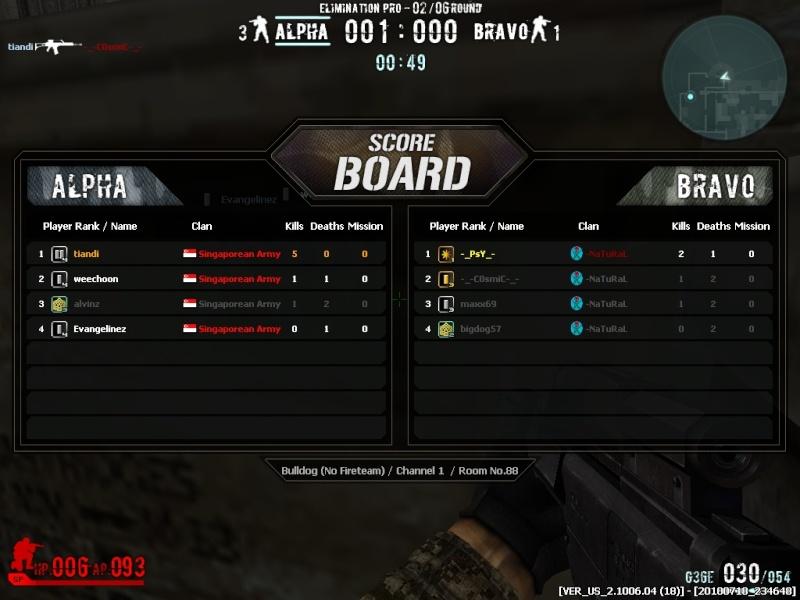 HAHA I AM PRO!!! TIANDI CPT 4 HIGHEST RANK OF ALL :)) Combat20