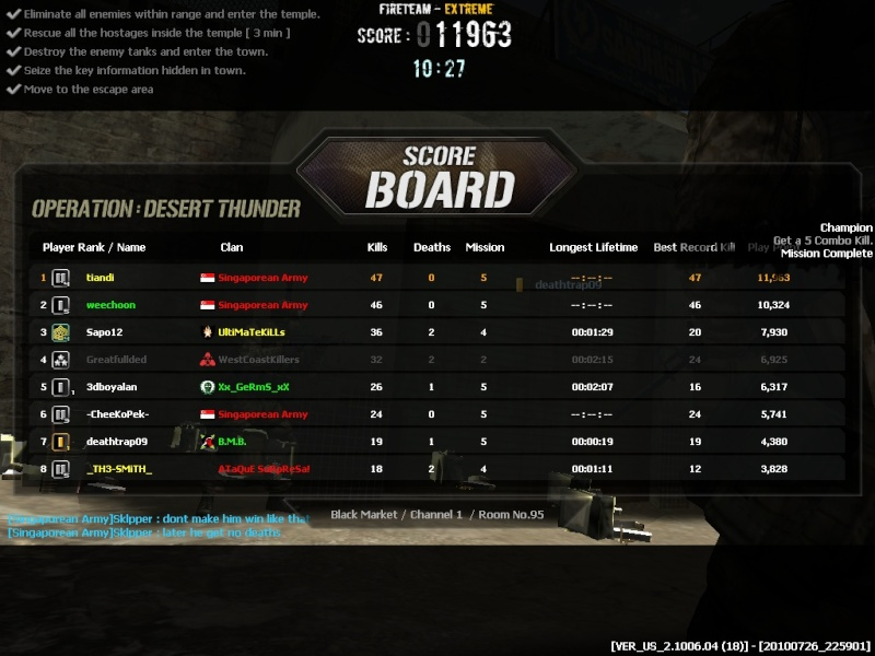 I WIN ALL THE HIGH RANKS IN DT!!! Combat22