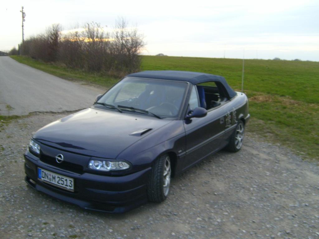Astra F Cabrio neue Lackierung! 011