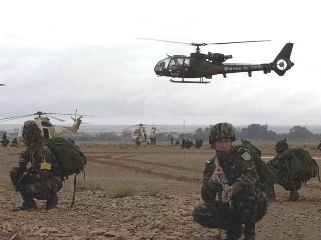 Armées marocaines Far8ha10