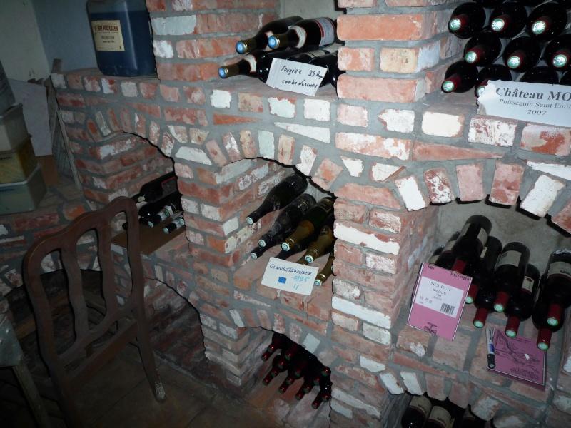Cave A Vin En Brique bois & briques