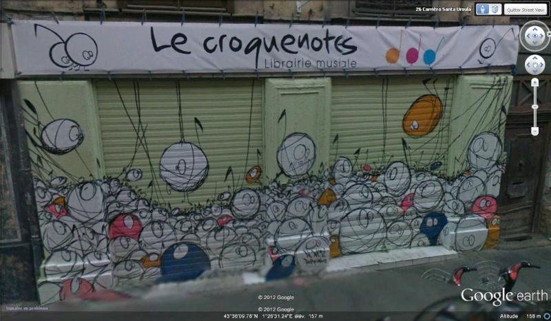 STREET VIEW : les façades de magasins (France) - Page 5 Croque10
