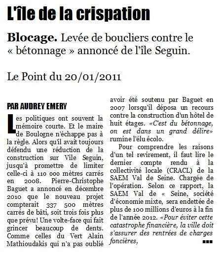 Aménagement de l'île Seguin - PLU - Page 7 2011-010