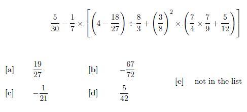 Bodmas and fraction challenge Year_711