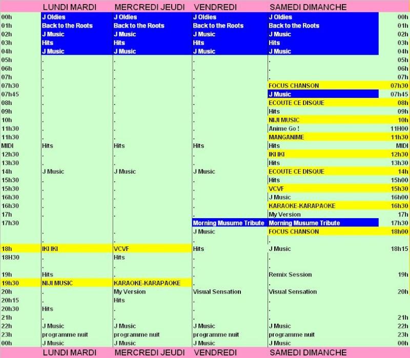 grille de rentrée : ce qui change dans les programmes de Samurai Radio Nouvel11