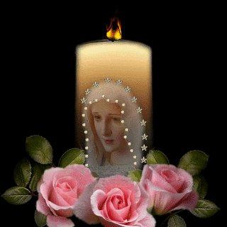Consecration au Coeur de Marie Bougie10