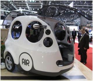 Das Auto mit Luftbetrieb Airpod10