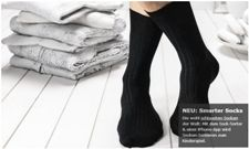 Die Socke mit Kommunikationsknopf Smarte10