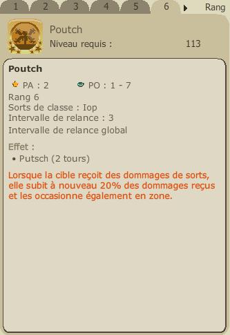 Mise à jour 2.8 et refonte du Iop Poutch10
