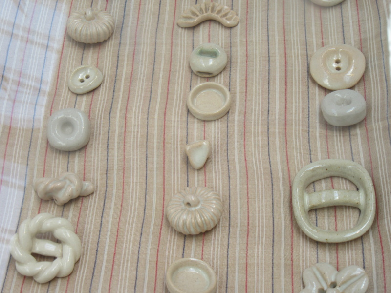 LUCIE RIE BUTTONS. A fascinating wartime part of her work. Img_8420