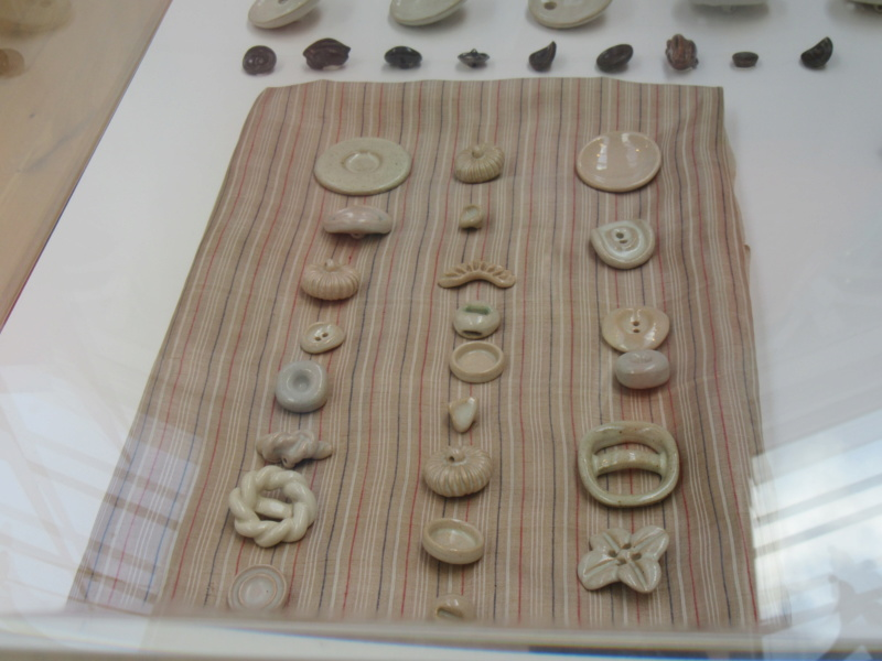 LUCIE RIE BUTTONS. A fascinating wartime part of her work. Img_8423