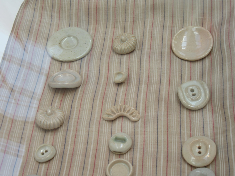 LUCIE RIE BUTTONS. A fascinating wartime part of her work. Img_8429
