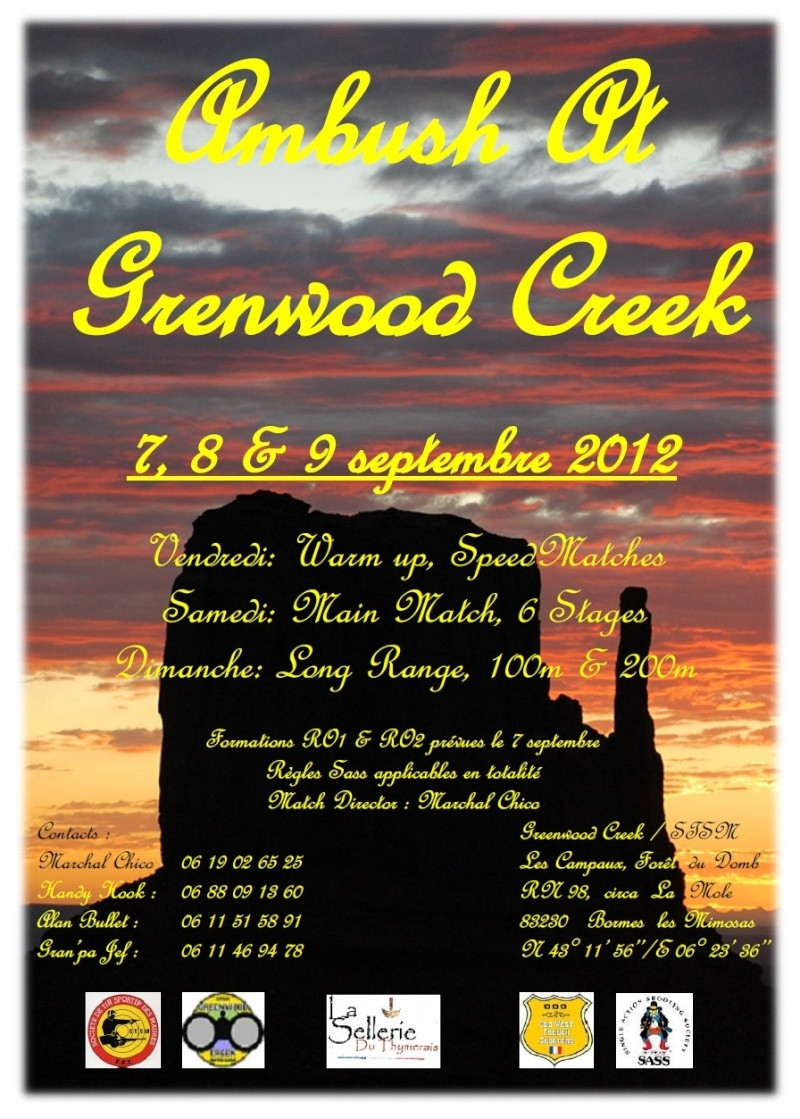 CONCOURS A GREENWOOD CREEK 8 & 9 SEPT  Affich10