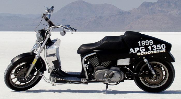 Da Bicilindrico a Scooter.. Bike310