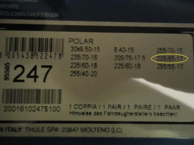 Montaggio smontaggio catene Dsc00415