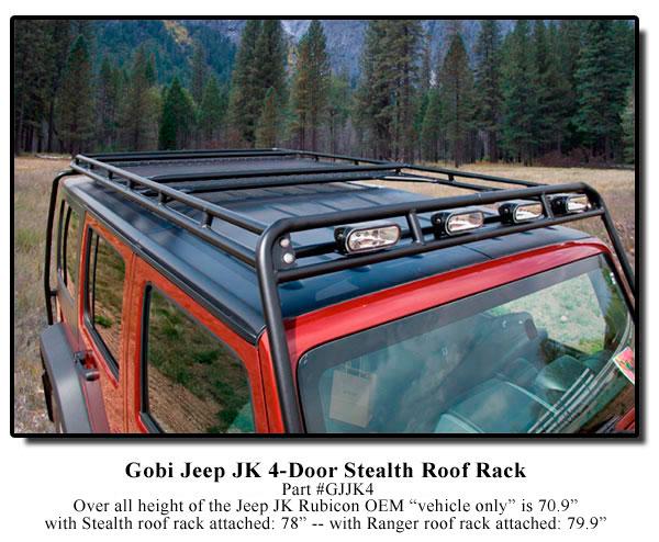 Portapacchi per Jk unlimited Jk4-to10