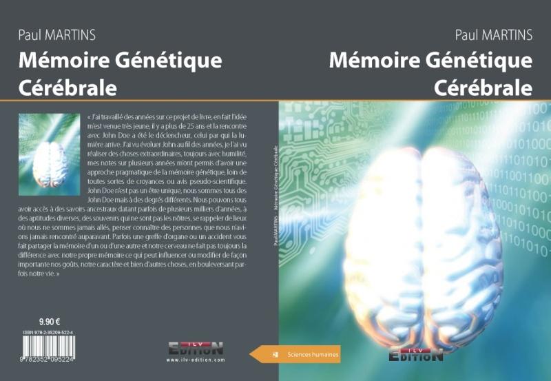 Extraits du livre Mémoire Génétique cérébrale Memoir10