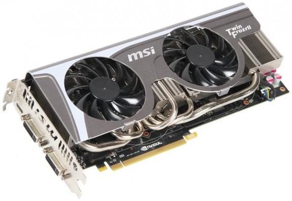 GeForce GTX 580 από την MSI Msin5810