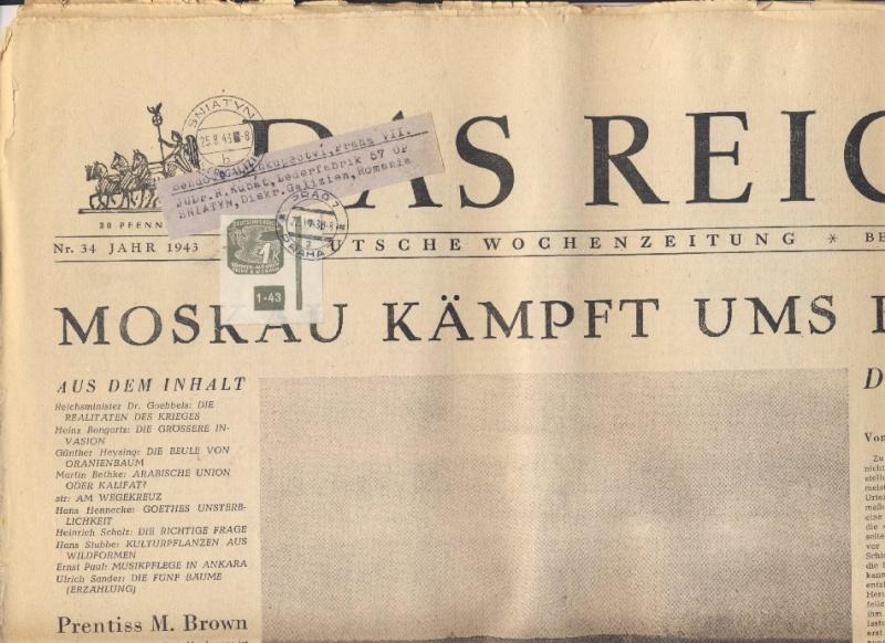 litauen - Deutsche Besetzungsausgaben im II. Weltkrieg Forum-14
