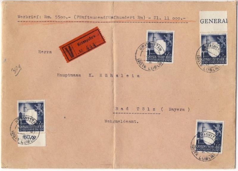 litauen - Deutsche Besetzungsausgaben im II. Weltkrieg Forum-16