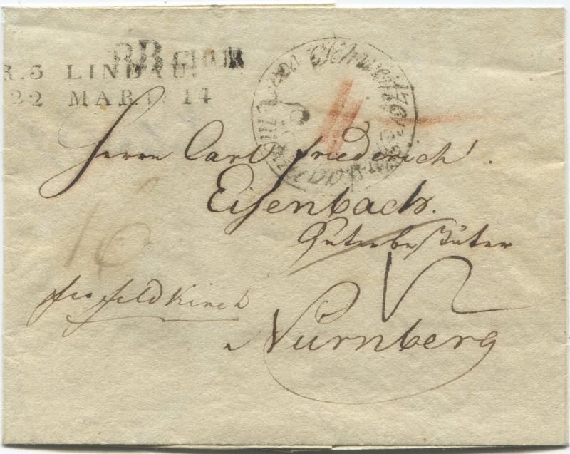 Briefe von - und nach Vorarlberg aus der bayrischen Zeit (1.1.1806 - 7.7.1814) Bbchur10