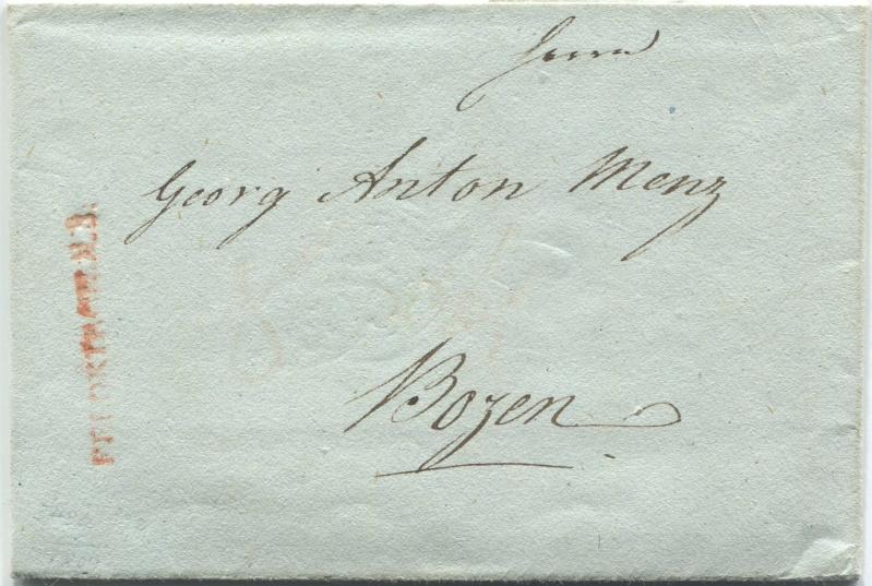 Briefe von - und nach Vorarlberg aus der bayrischen Zeit (1.1.1806 - 7.7.1814) Feldki12