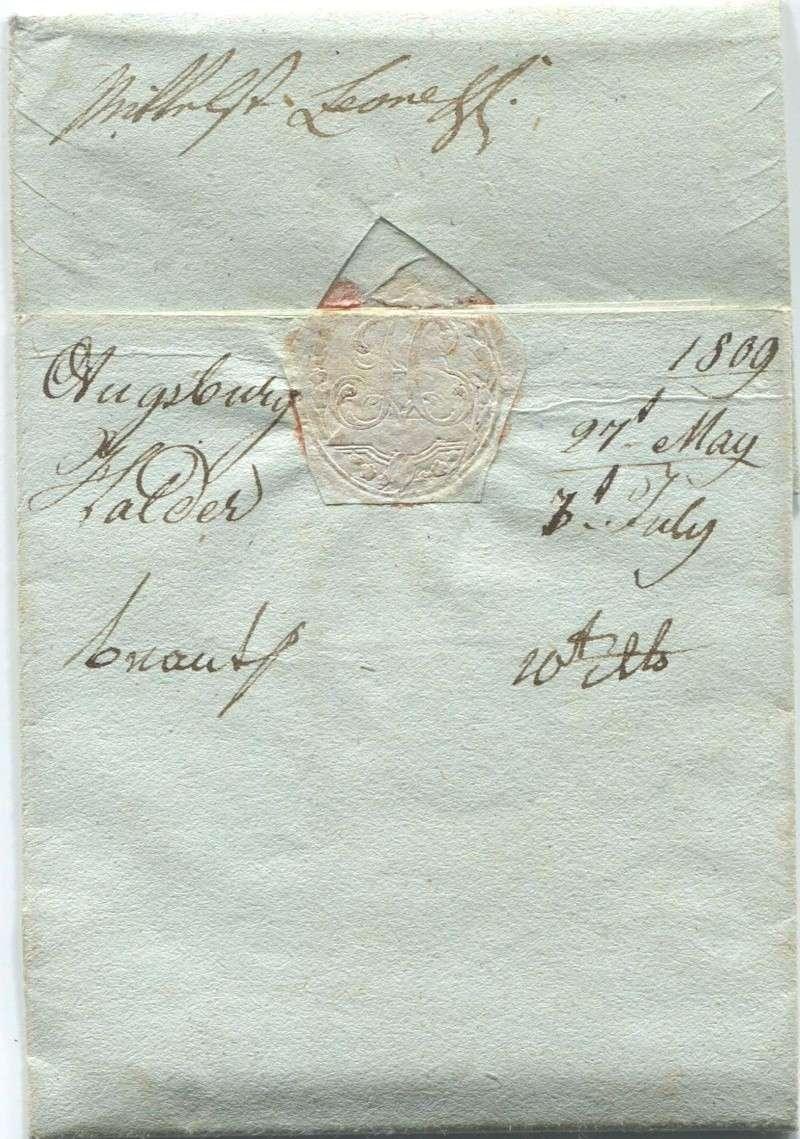 Briefe von - und nach Vorarlberg aus der bayrischen Zeit (1.1.1806 - 7.7.1814) Feldki13