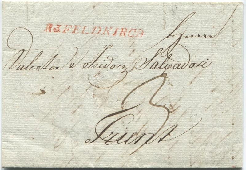 Briefe von - und nach Vorarlberg aus der bayrischen Zeit (1.1.1806 - 7.7.1814) Feldki17