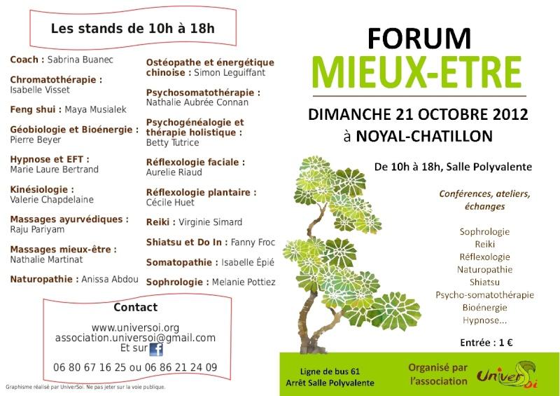 Forum Mieux-Etre 21 Octobre_Noyal Chatillon  Flyerr10