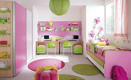 ديكورات غرف نوم للأطفال بألوان رائعه وزاهية 113