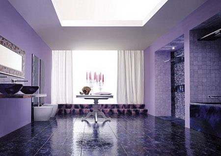 ديكورات باللون البنفسجي تحلق ببيتك لعالم الخيال , بالصور 114