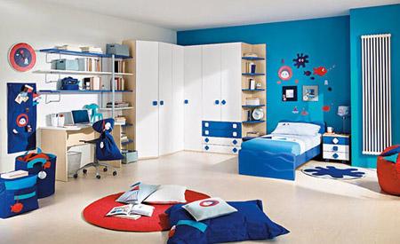 ديكورات غرف نوم للأطفال بألوان رائعه وزاهية 513