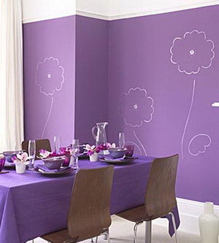 ديكورات باللون البنفسجي تحلق ببيتك لعالم الخيال , بالصور 813