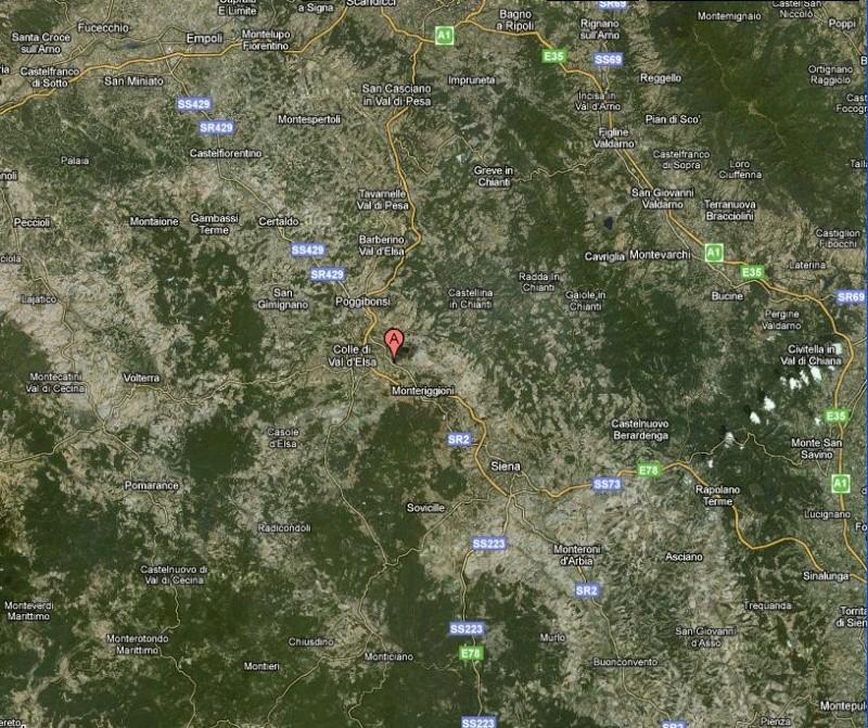 fws20 - Stazione PCE FWS20 di Staggia Senese, Poggibonsi, Siena, 170m s.l.m. Stazio10