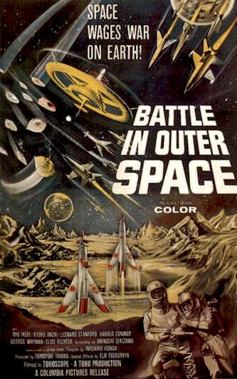La Bataille interplanétaire (Battle in Outer Space) Affich10