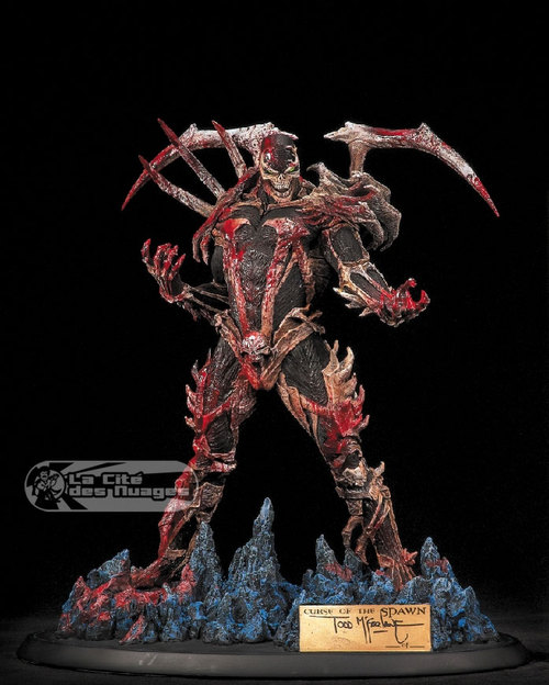 Curse of the Spawn resin statue Mcf92210