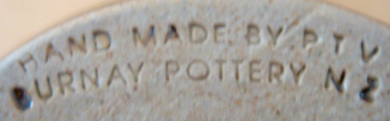 Burnay Pottery stamp (Peter & Trudes Vendelbosch) for the Gallery Dsc01729