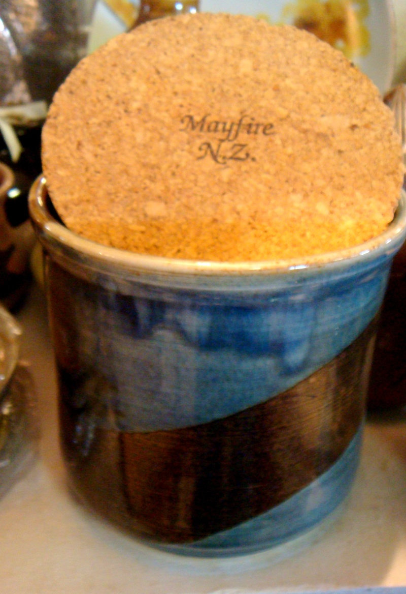 Is this a Seymour May piece by Mayfire Pottery? Dsc02120