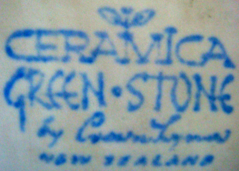 Ceramica Green.Stone Stamp for the Gallery Dsc02412